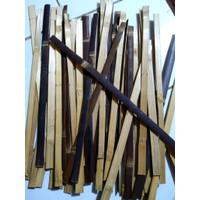 Bilah bambu hitam,batang bambu,pagar hiasan taman