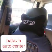 Bantal leher Mobil Sparco empuk dan nyaman