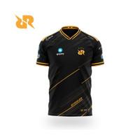 Jersey Baju Team Rrq Gaming Ml Ff Mobile Legend Pubg Dota 2020 Hitam