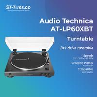 Audio Technica AT-LP60XBT Fully Automatic Wireless Belt - Black