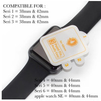 BEST SUIT Hydrogel anti gores apple watch seri 3 38mm 42mm series 3