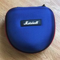 headphone headset hard case eva box marshall telex audiotechnica blue
