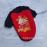 (N2) Baju Kostum costume heongsam imlek chinese new year anjing kucing