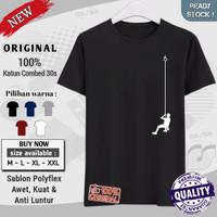 baju kaos oblong outdoor distro original premium keren Hanging Climb
