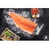Ikan Salmon Fillet SEGAR Premium ( Norwegia ) Sashimi Grade per Gram