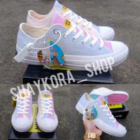 Sepatu Converse Putih Low Berubah Warna Chinatown Market BNIB