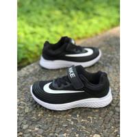 Sepatu Anak Nike Kids Hitam Import Quality Anak Laki laki Sekolah TK