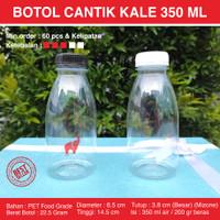 Botol Plastik Cantik 350 ml Kale - Botol Valencia 350 ml - Botol Jus