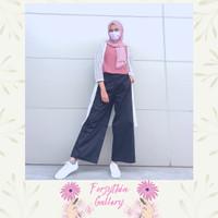 Rone - Celana Kulot Wanita Premium Bahan Katun Stretch