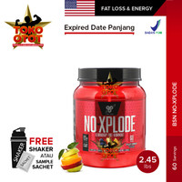 Suplemen Fitness BSN NO XPLODE 60 Servings NOxplode Pre Workout