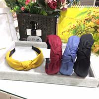 Bando kain bandana headband gaya korea cantik korean style simpul