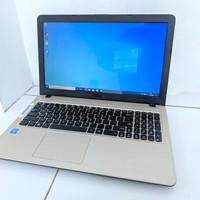 laptop asus X540NA 4GB/HDD 500 laptop kuliah kantor murah