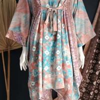 baju jumputan palembang set