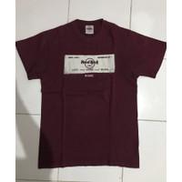 Kaos T-Shirt Tee Shirt Hard Rock Cafe Rome Roma Italy Ori HardRock
