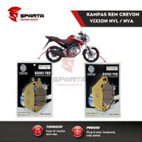 Kampas Rem Cakram Vixion New Depan Belakang Disc Pad CREVON