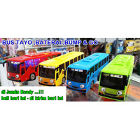 Mainan Anak Bus Bis Tayo Besar Baterai Battery - Sound & Light - Bump