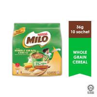 Milo cereal sereal malaysia ( 10 sachet x 36 gram )