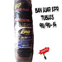 PAKET 1 BAN LUAR EPR TUBLES 90/90-14 ALL MOTOR METIC