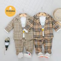 Set Jas Anak Laki-Laki Set Baju Bayi Laki-Laki Baju Anak Lucu