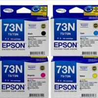 Tinta Epson 73n=T11,T20e,T13,TX101,TX110,TX111,CX6900F,etc
