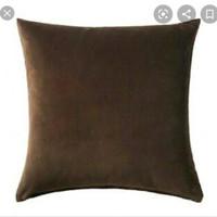 IKEA SANELA Sarung Bantal 50x50 (DARK BROWN)