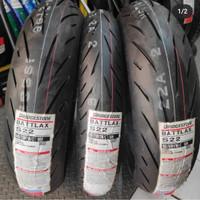 Battlax S22 110/70-17 + 150/60-17 ban motor cbr r25 r15 ninja