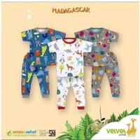 Baju Anak Bayi Velvet Junior Lengan Pendek Celana Panjang Pakaian Baby - XXL