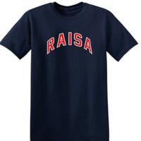 kaos t shirt kaos pria RAISA kaos keren bahan bagus warna stok ada