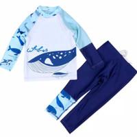 Baju Renang Anak Laki Lengan Panjang & Celana Panjang Shark -4