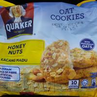 QUAKER Oat Cookies Honey Nuts 270gram