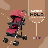 Makassar - Stroller Baby Does BabyDoes Hola CH311 / Kereta Dorong Bayi - Merah