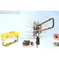 Antena Remot Built-in Booster PF 850 PF Antena Digital Free 10M Kabel