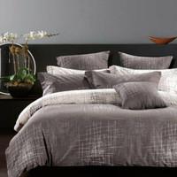 Sprei set bedcover bahan katun motif ABSTRAK Ukuran 160x200-200x200