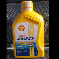 Shell advance AX5 Scooter / matic SAE 10W-30 800 mL