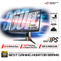 Monitor Asus PG259QN 24.5 - ASUS ROG Swift PG259QN FHD IPS 360Hz 1Ms