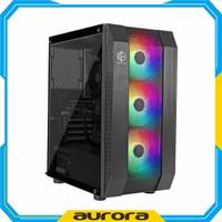 CUBE GAMING FRINS - Free 3 Fan Rainbow RGB ATX Gaming Case