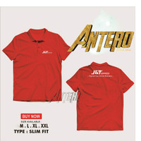 Kaos kerah Polo shirt jnt j&t express