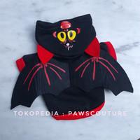 (B44) Baju Kostum Costume Sayap Bat Halloween Anjing Kucing Hewan