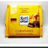 Ritter sport corn flake chocolate 100 gr