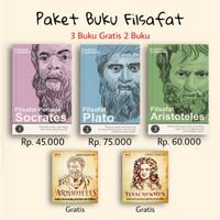 Paket Filsafat Socrates Filsafat Plato Filsafat Aristoteles Frederick