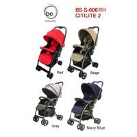 Khusus orderan GoJek Stroller BabyElle Citilite 2 Red Beige Blue Purpl