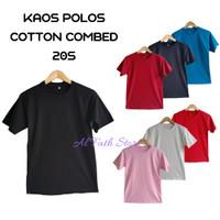 Kaos Polos Cotton Combed 20s Premium Kaos Distro
