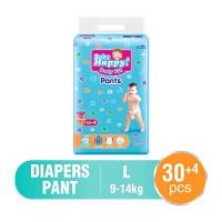 Baby Happy POPOK BAYI Size L [EXTRA ISI 30 + 4 pc]