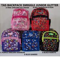 Smiggle Backpack New Motif / Tas Ransel Sekolah Anak Smiggle