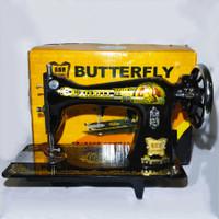 Mesin Jahit BUTTERFLY JA1-1 Hitam Klasik - Hanya Kepala Mesin