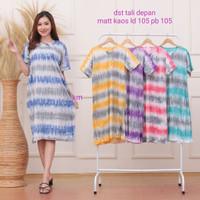 daster kaos pelangi / baju tidur wanita / baju murah berkualitas