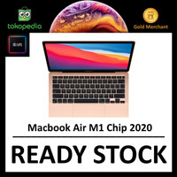 Apple MacBook Air M1 Chip 2020 8GB 13 256GB / 512GB GOLD GRAY SILVER
