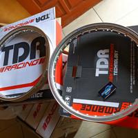 Velg TDR RACING Er shape 140/160 Silver RING 17