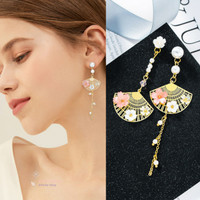 Anting Wanita Lux / Earrings Women Korean Style Model Panjang