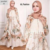 Gamis Wanita Murah Baju Busana Muslim Terbaru Modern Maxi Busui Katun